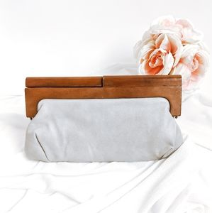 Wooden Melie Bianco Nordstrom Wooden Handle Clutch